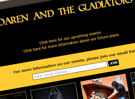 daren-and-the-gladiators-web-design