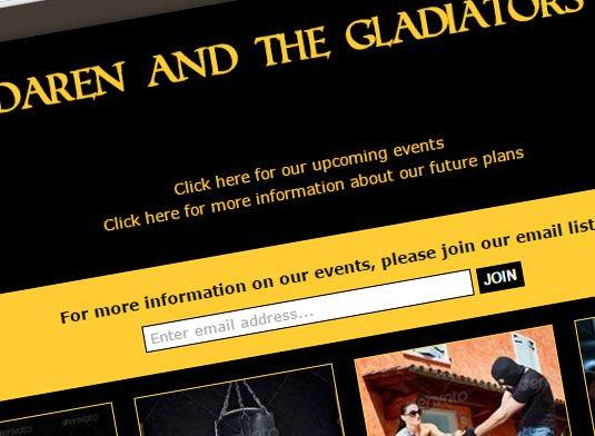 daren-and-the-gladiators-web-design