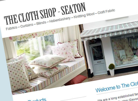 the-cloth-shop-website-design